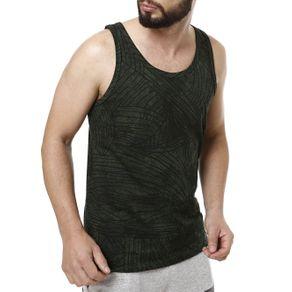 Camiseta Regata Masculina Fido Dido Verde G