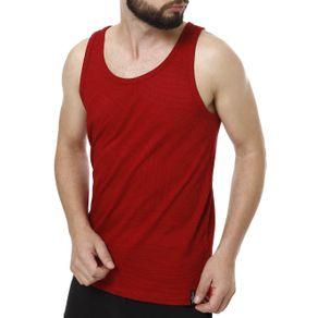 Camiseta Regata Masculina Fido Dido Vermelho G