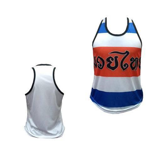 Camiseta/Regata - Muay Thai Thailand Colors - Ferminina Duelo Fight .