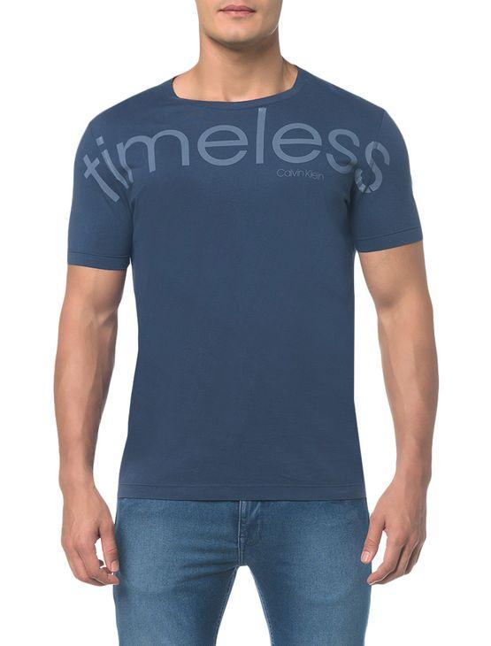 Camiseta Regula C Estmap na Frente - Indigo - PP