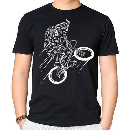 Camiseta Samurai Rider P - PRETO