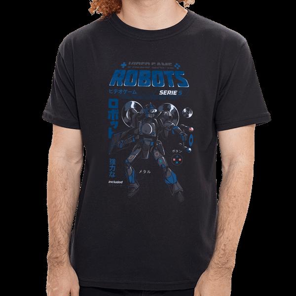 Camiseta Sony Robots - Masculina - P