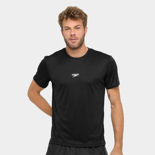 Camiseta Speedo Interlock Preto Tam. M