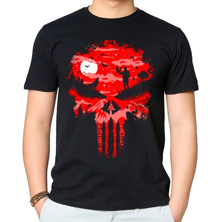 Camiseta Stand And Bleed P - PRETO