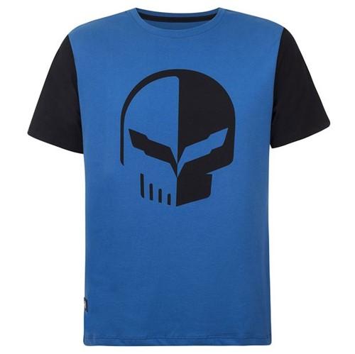 Camiseta Strong Masculino Corvette Gm Azul P 11070