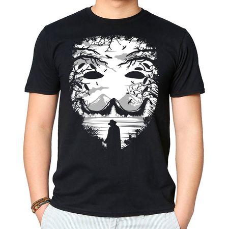Camiseta The Mask P - PRETO