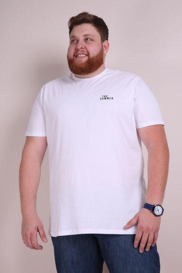 Camiseta The Summer Plus Branco P