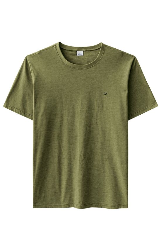Camiseta Tradicional Bordado Wee! Verde Musgo - M