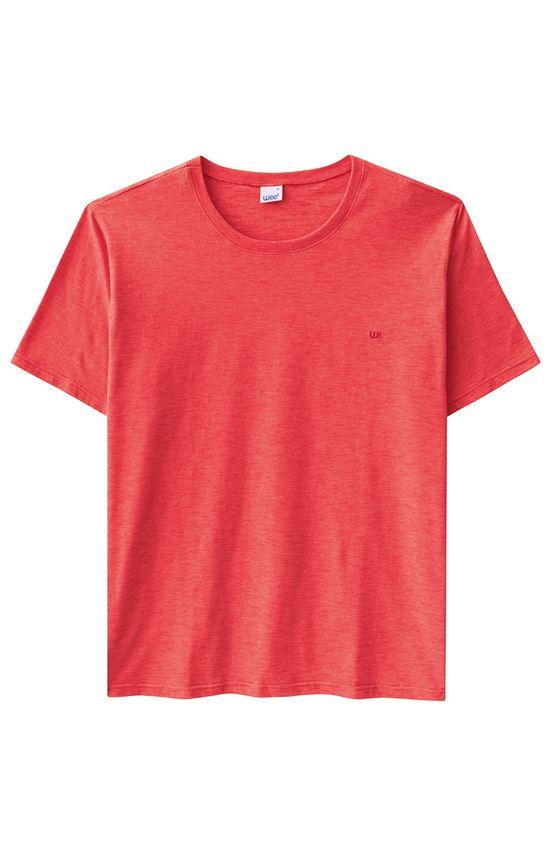 Camiseta Tradicional Bordado Wee! Vermelho - G