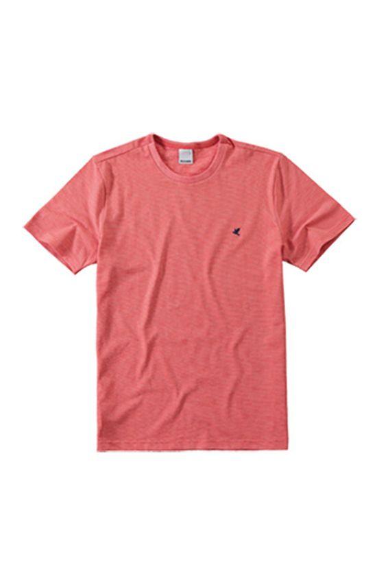 Camiseta Tradicional com Bordado Malwee Vermelho - G