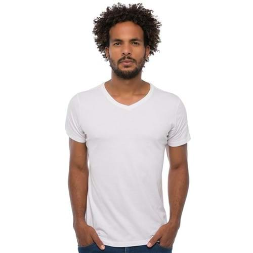 Camiseta Gola V Masculina