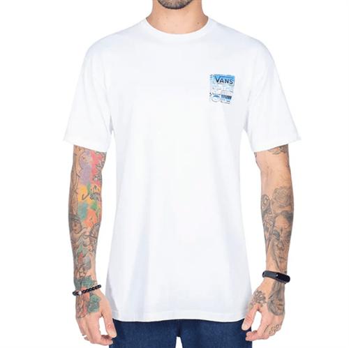 Camiseta Vans Classic AVE White (P)