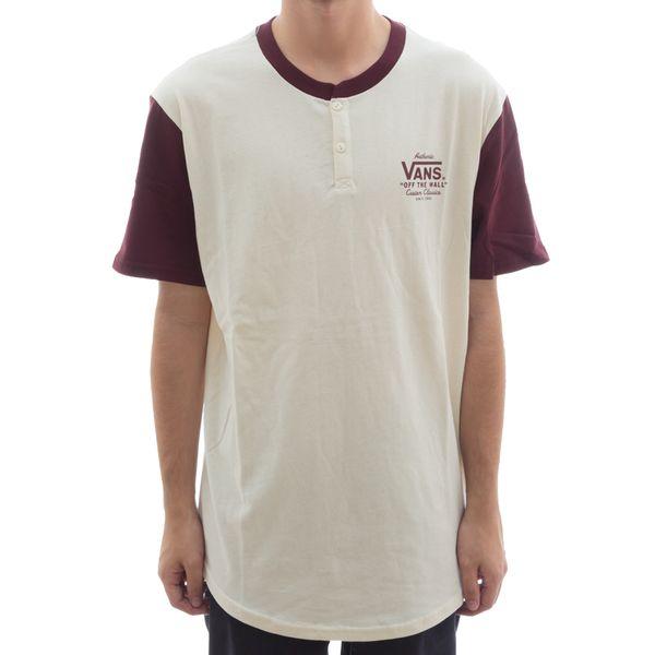 Camiseta Vans Holder Street Henley II (P)
