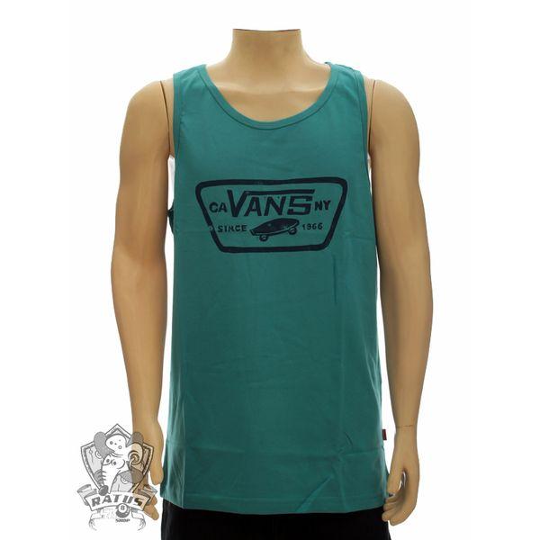 Camiseta Vans Regata Paint Patch Lagoon (M)
