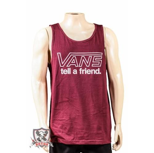 Camiseta Vans Regata Tell Friend (P)