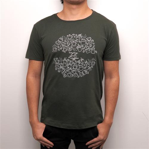 Camiseta Verde Orfeu| Orfeu Camiseta Verde Orfeu (P) | Orfeu