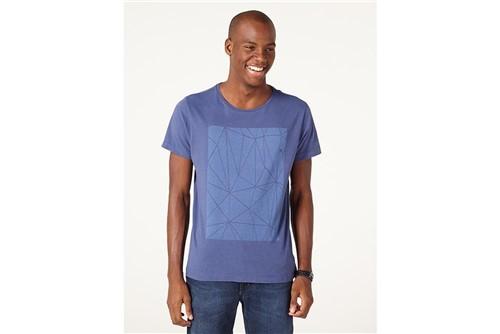 Camiseta Vitral - Azul - GG