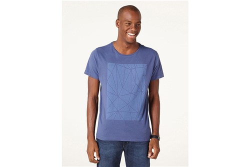 Camiseta Vitral - Azul - M