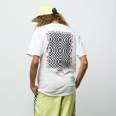 Camiseta Warped Check - P