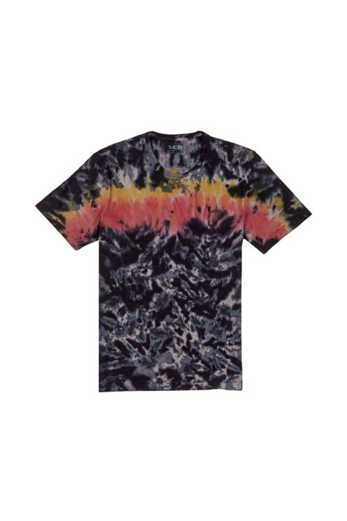 Camiseta Washed Flames MCD PRETO G