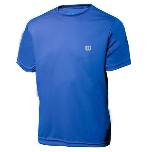 Camiseta Wilson Core Infantil Azul - 8 - Azul