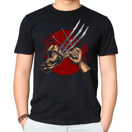 Camiseta Wolverine P-PRETO