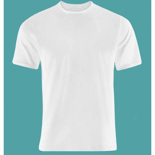 2 Camisetas Branca Infantil Gola Redonda