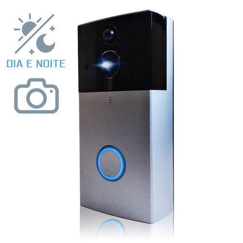 Campainha Smart Vídeo Porteiro Eletrônico com Câmera e Campainha Sem Fio Wifi