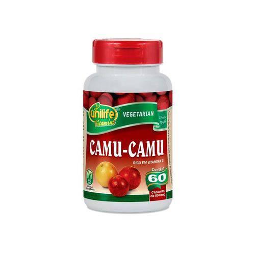 Camu Camu 500mg Vitamina C Unilife 60 Cápsulas