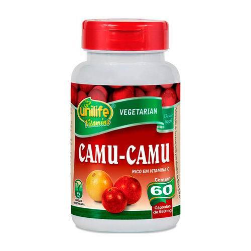 Camu-Camu - 60 Cápsulas - Unilife