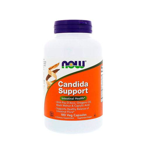 Candida Support (90 Cápsulas Veganas) Now Foods