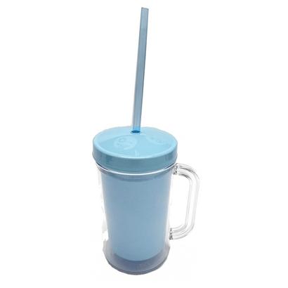 Caneca 420ml Cristal para Foto Azul Bebê MTSZ