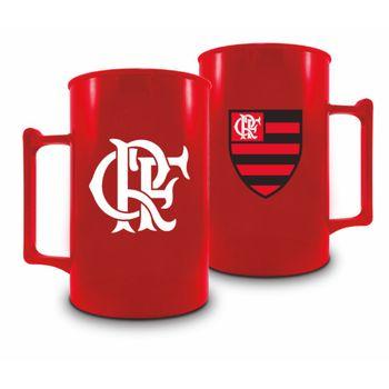 Caneca Acrílica 400ml - Flamengo Vermelha