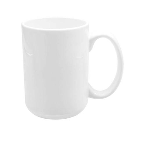 Caneca Branca Cerâmica - 400ml UNIDADE