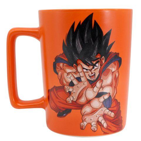 Caneca C/alça Quadrada Goku