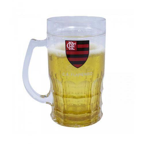 Caneca Cerveja 400ml - Flamengo