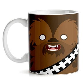Caneca Chewbacca Star Wars Faces