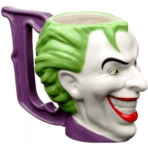 Caneca Coringa Joker Mold WB JL Core Porcelana 235ml Urban