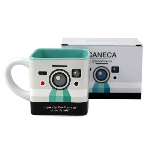 Caneca Cubo Câmera