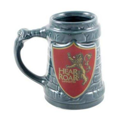 Caneca 3D 500ml Lannister - Game Of Thrones