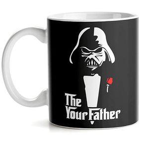Caneca Darth Vader o Poderoso Chefao Star Wars