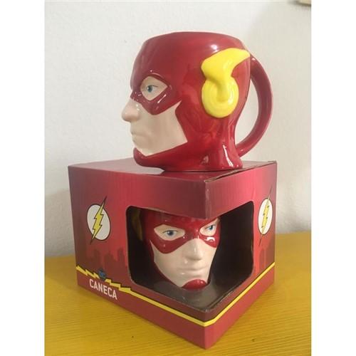 Caneca DC Comics 3D Face Flash