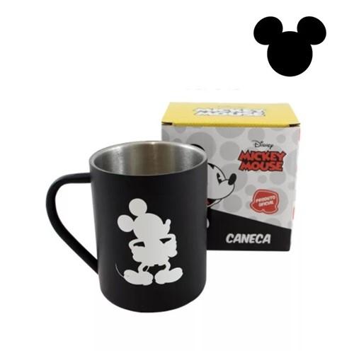 Caneca de Aço Mickey Mouse - Compre na Imagina só Presentes