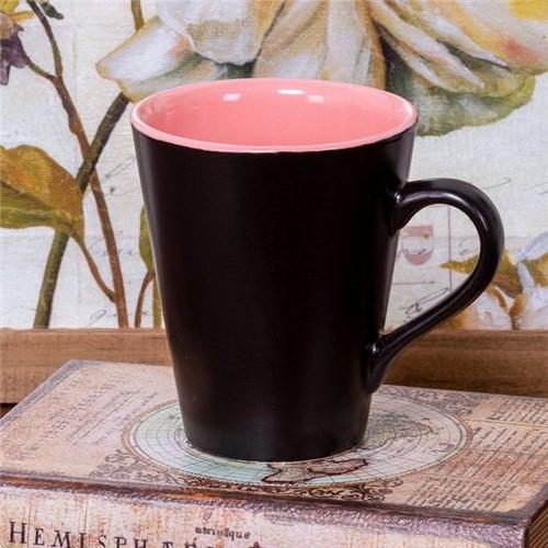 Caneca de Cerâmica Conic 275ml Havan Rosa Rosa