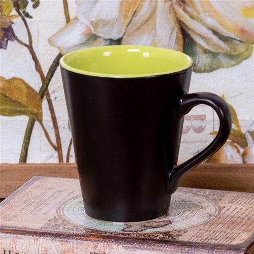 Caneca de Cerâmica Conic 275ml Havan Verde Verde