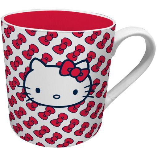 Caneca de Cerâmica Vermelha Hello Kitty Urban