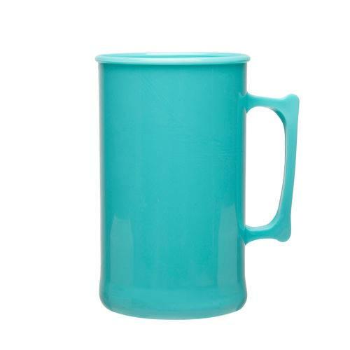 Caneca de Chopp Acrílica 300 ML Azul Tiffany 25 Unidades