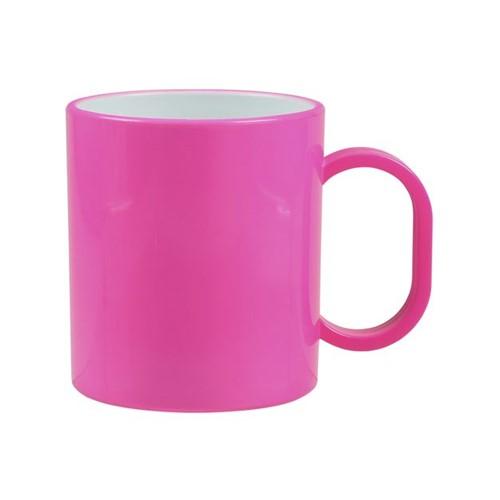 Caneca de Polímero Pink Polimero Pink - Unidade