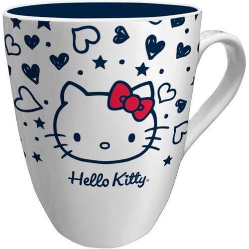 Caneca de Porcelana Branca Hello Kitty Old Urban
