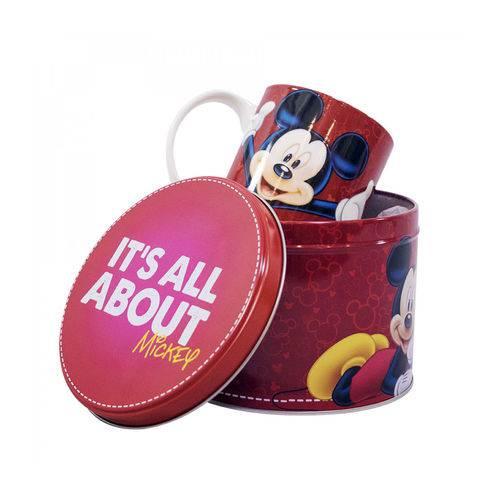 Caneca de Porcelana na Lata Mickey 350ml